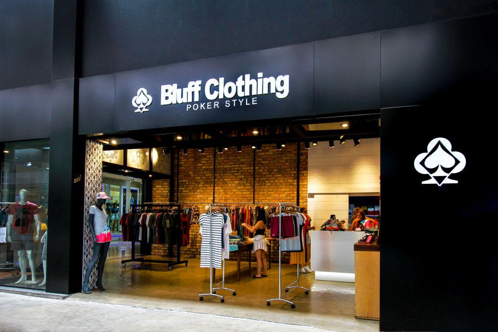 Bluff Clothing Poker Style